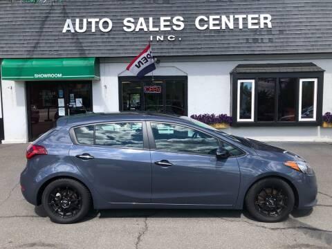 2015 Kia Forte5 for sale at Auto Sales Center Inc in Holyoke MA