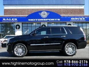 2017 Cadillac Escalade for sale at Highline Group Motorsports in Lowell MA