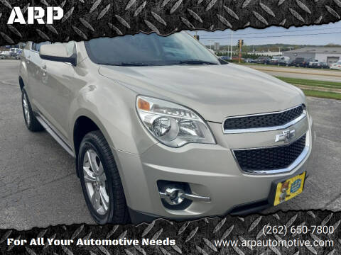 2013 Chevrolet Equinox for sale at ARP in Waukesha WI