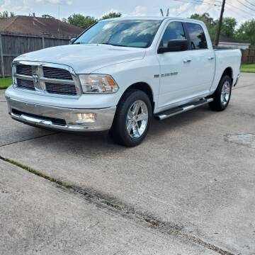 2012 RAM Ram Pickup 1500 for sale at MOTORSPORTS IMPORTS in Houston TX