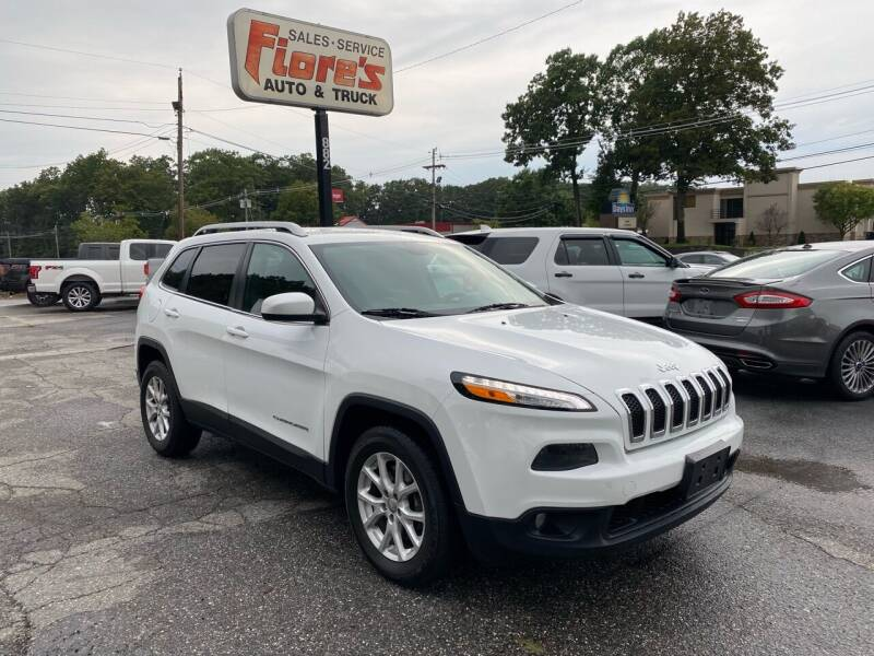 2015 Jeep Cherokee for sale at FIORE'S AUTO & TRUCK SALES in Shrewsbury MA