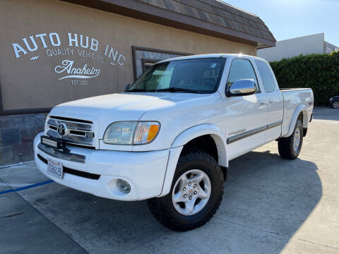 2003 Toyota Tundra for sale at Auto Hub, Inc. in Anaheim CA