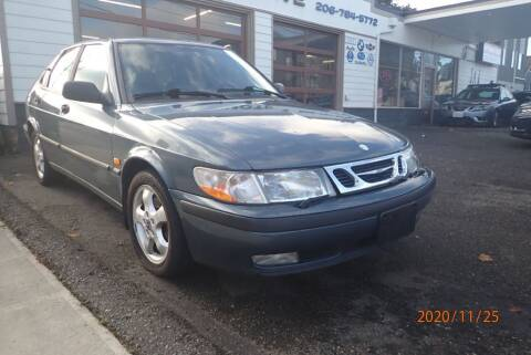 2000 Saab 9-3 for sale at INTEGRITY AUTO SALES LLC in Seattle WA