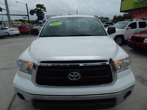 2013 Toyota Tundra for sale at Auto Outlet of Sarasota in Sarasota FL