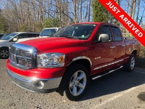 2008 Dodge Ram Pickup 1500 for sale at Brandon Reeves Auto World in Monroe NC