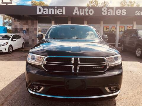 2015 Dodge Durango for sale at Daniel Auto Sales inc in Clinton Township MI