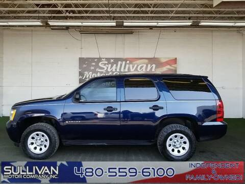 2009 Chevrolet Tahoe for sale at SULLIVAN MOTOR COMPANY INC. in Mesa AZ
