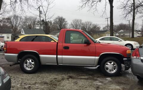 1999 GMC Sierra 1500 for sale at Antique Motors in Plymouth IN