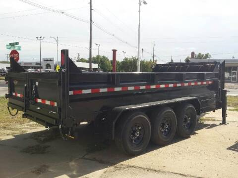 2021 H&H 16 FOOT DUMPBOX for sale at ALL STAR TRAILERS Dump Boxes in , NE