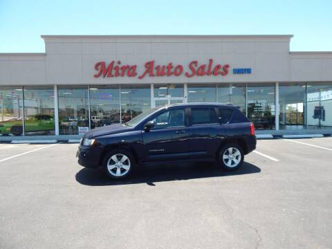2012 Jeep Compass for sale at Mira Auto Sales in Dayton OH
