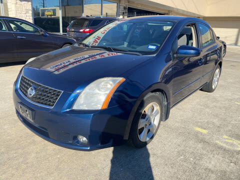 2008 Nissan Sentra for sale at Houston Auto Gallery in Katy TX