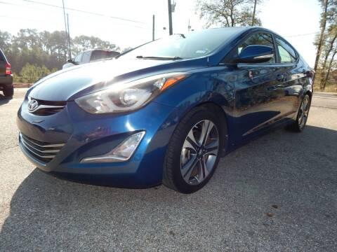 2014 Hyundai Elantra for sale at Medford Motors Inc. in Magnolia TX