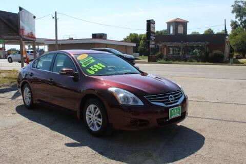 2012 Nissan Altima for sale at E & S Auto Sales in Crest Hill IL