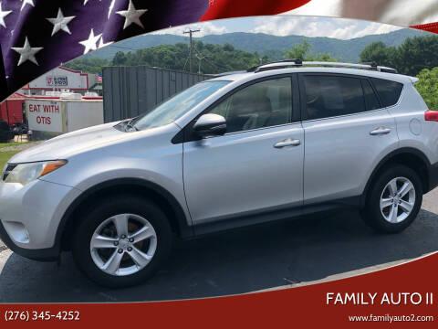 2013 Toyota RAV4 for sale at FAMILY AUTO II in Pounding Mill VA