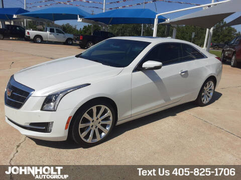 2017 Cadillac ATS for sale at JOHN HOLT AUTO GROUP, INC. in Chickasha OK
