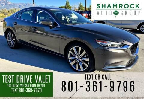 2018 Mazda MAZDA6 for sale at Shamrock Group LLC #1 in Pleasant Grove UT