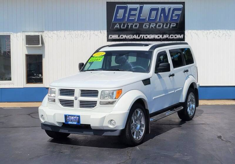 2011 Dodge Nitro for sale at DeLong Auto Group in Tipton IN