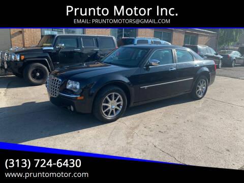2009 Chrysler 300 for sale at Prunto Motor Inc. in Dearborn MI