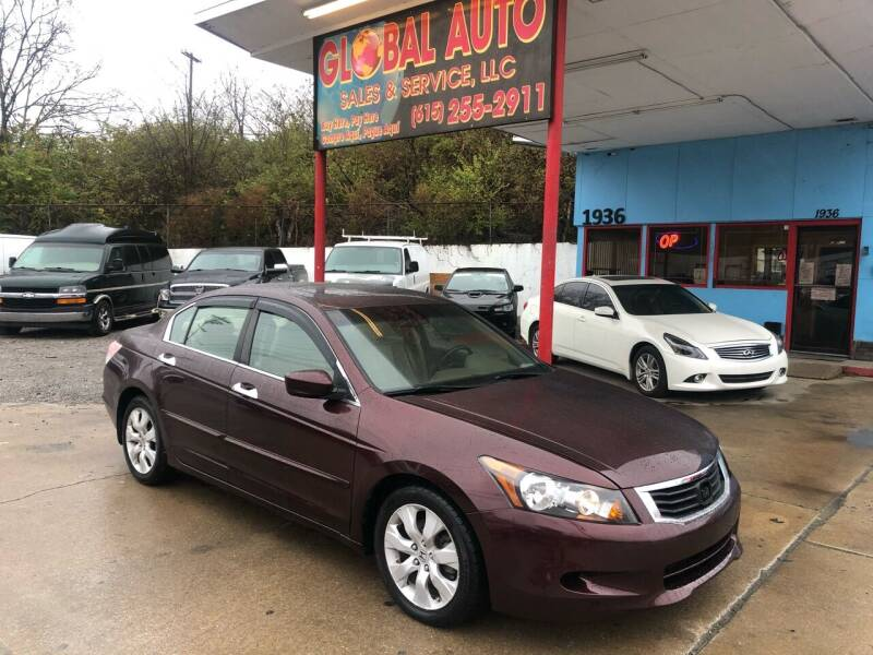 2010 Honda Accord for sale at Global Auto Sales and Service in Nashville TN
