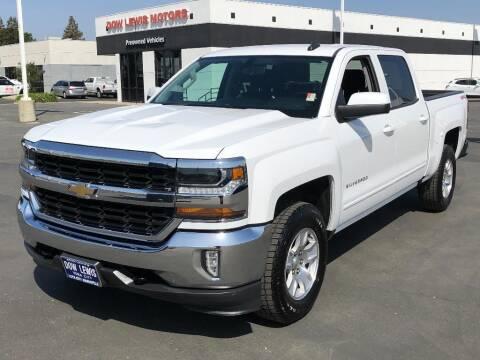 2018 Chevrolet Silverado 1500 for sale at Dow Lewis Motors in Yuba City CA