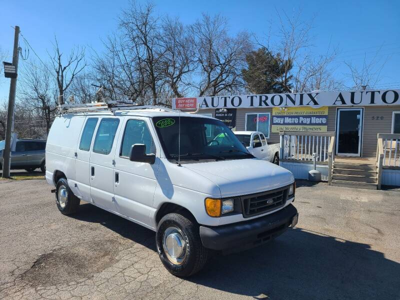 2005 Ford E-Series Cargo for sale at Auto Tronix in Lexington KY