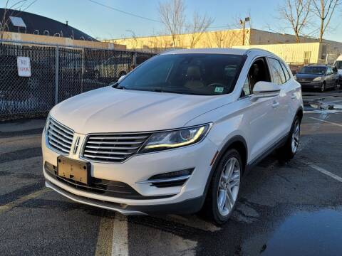 2016 Lincoln MKC for sale at AW Auto & Truck Wholesalers  Inc. in Hasbrouck Heights NJ