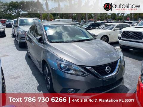2016 Nissan Sentra for sale at AUTOSHOW SALES & SERVICE in Plantation FL
