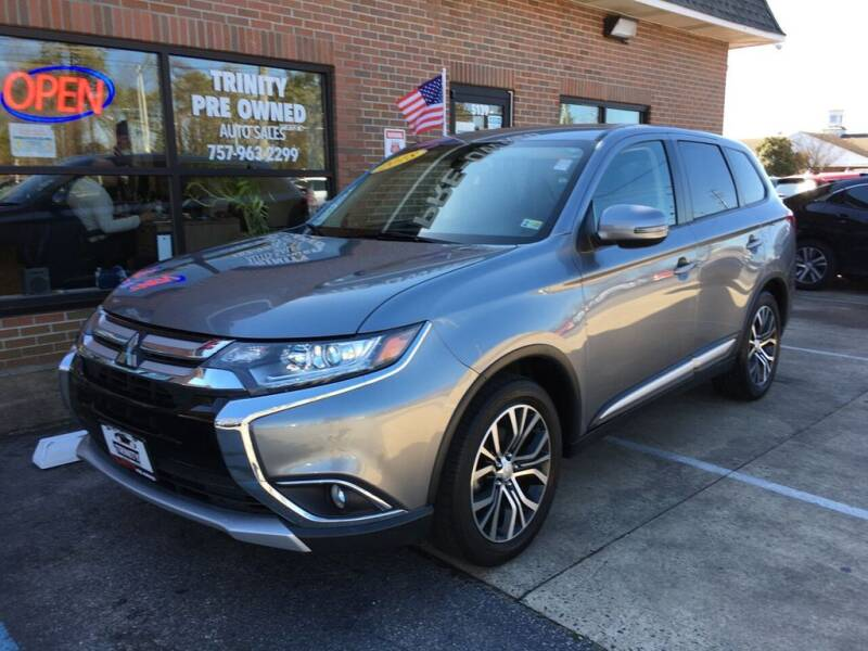 2018 Mitsubishi Outlander for sale at Bankruptcy Car Financing in Norfolk VA