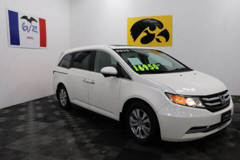 2015 Honda Odyssey for sale at Carousel Auto Group in Iowa City IA