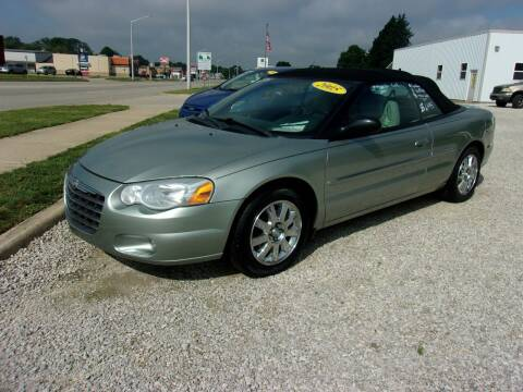 2005 Chrysler Sebring for sale at Marty Hart's Auto Sales in Sturgis MI