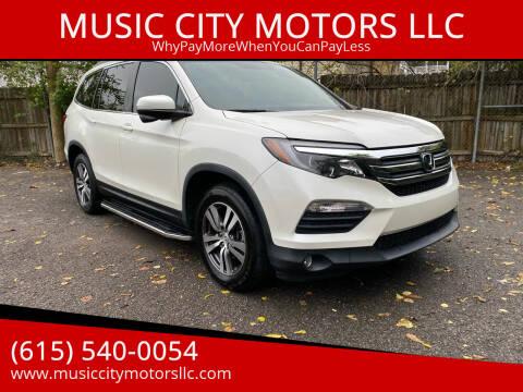2016 Honda Pilot for sale at MUSIC CITY MOTORS LLC in Nashville TN