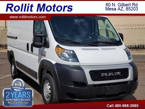 2019 RAM ProMaster Cargo for sale at Rollit Motors in Mesa AZ