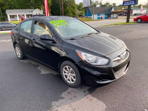 2012 Hyundai Accent for sale at Cars for Less in Phenix City AL