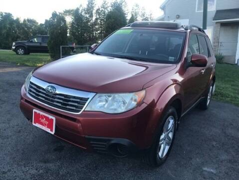2010 Subaru Forester for sale at FUSION AUTO SALES in Spencerport NY