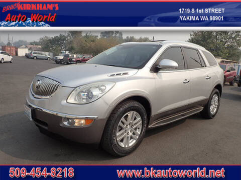 2009 Buick Enclave for sale at Bruce Kirkham Auto World in Yakima WA