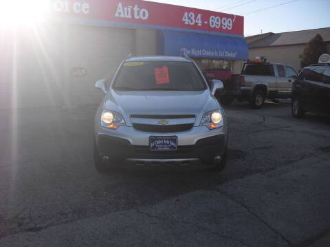 2013 Chevrolet Captiva Sport for sale at 1st Choice Auto Inc in Green Bay WI