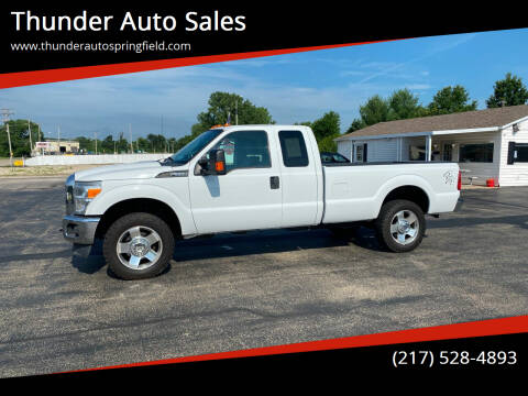 2013 Ford F-250 Super Duty for sale at Thunder Auto Sales in Springfield IL