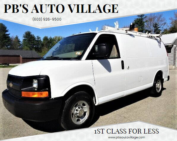 2011 Chevrolet Express Cargo for sale at PB'S Auto Village in Hampton Falls NH