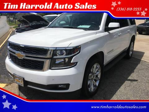 2015 Chevrolet Suburban for sale at Tim Harrold Auto Sales in Wilkesboro NC