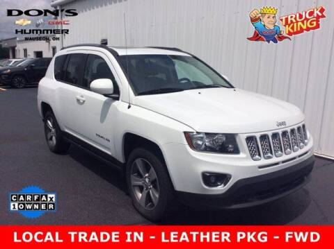 2016 Jeep Compass for sale at DON'S CHEVY, BUICK-GMC & CADILLAC in Wauseon OH