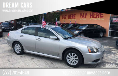 2010 Mitsubishi Galant for sale at DREAM CARS in Stuart FL
