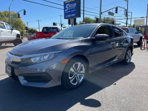 2017 Honda Civic for sale at 5 Star Auto Sales in Modesto CA