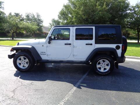 2010 Jeep Wrangler Unlimited for sale at BALKCUM AUTO INC in Wilmington NC
