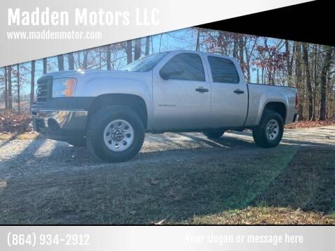 2011 GMC Sierra 1500 for sale at Madden Motors LLC in Iva SC