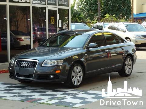 2008 Audi A6 for sale at Drive Town in Houston TX