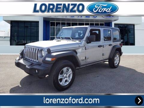 2019 Jeep Wrangler Unlimited for sale at Lorenzo Ford in Homestead FL