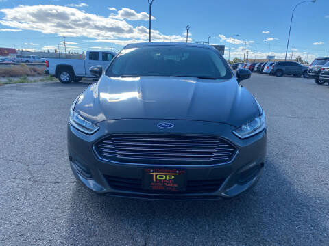 2016 Ford Fusion for sale at Top Line Auto Sales in Idaho Falls ID