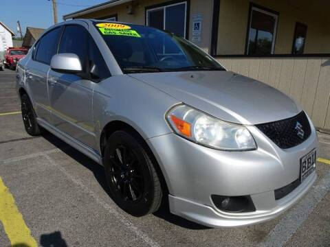 2009 Suzuki SX4 for sale at BBL Auto Sales in Yakima WA