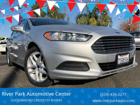 2016 Ford Fusion for sale at River Park Automotive Center in Fresno CA