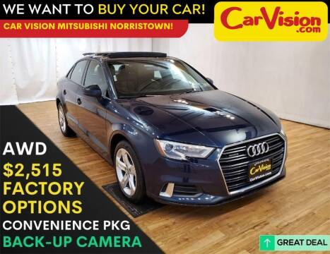 2018 Audi A3 for sale at Car Vision Mitsubishi Norristown in Trooper PA